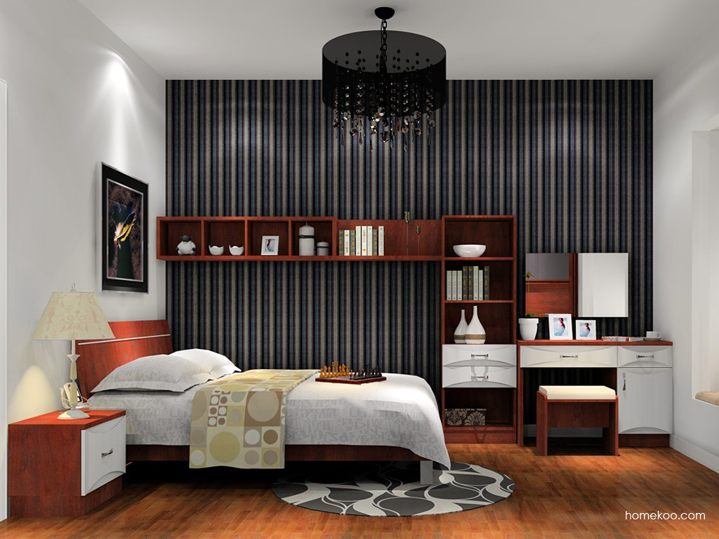 挪威月色卧房家具A15775