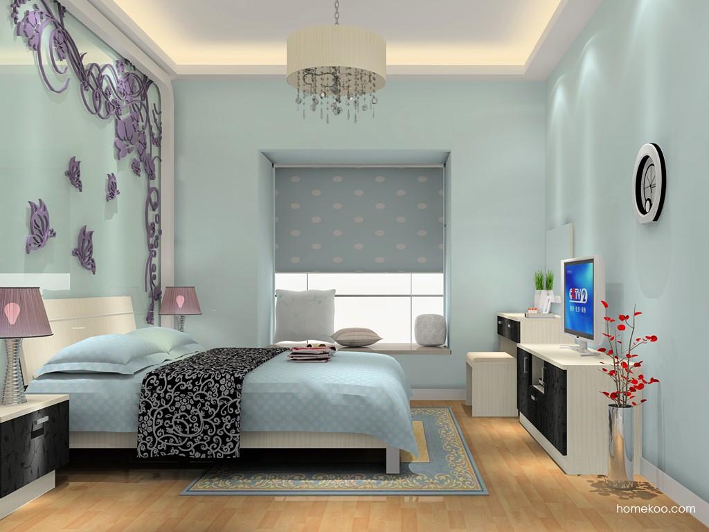 米兰剪影卧房家具A15777