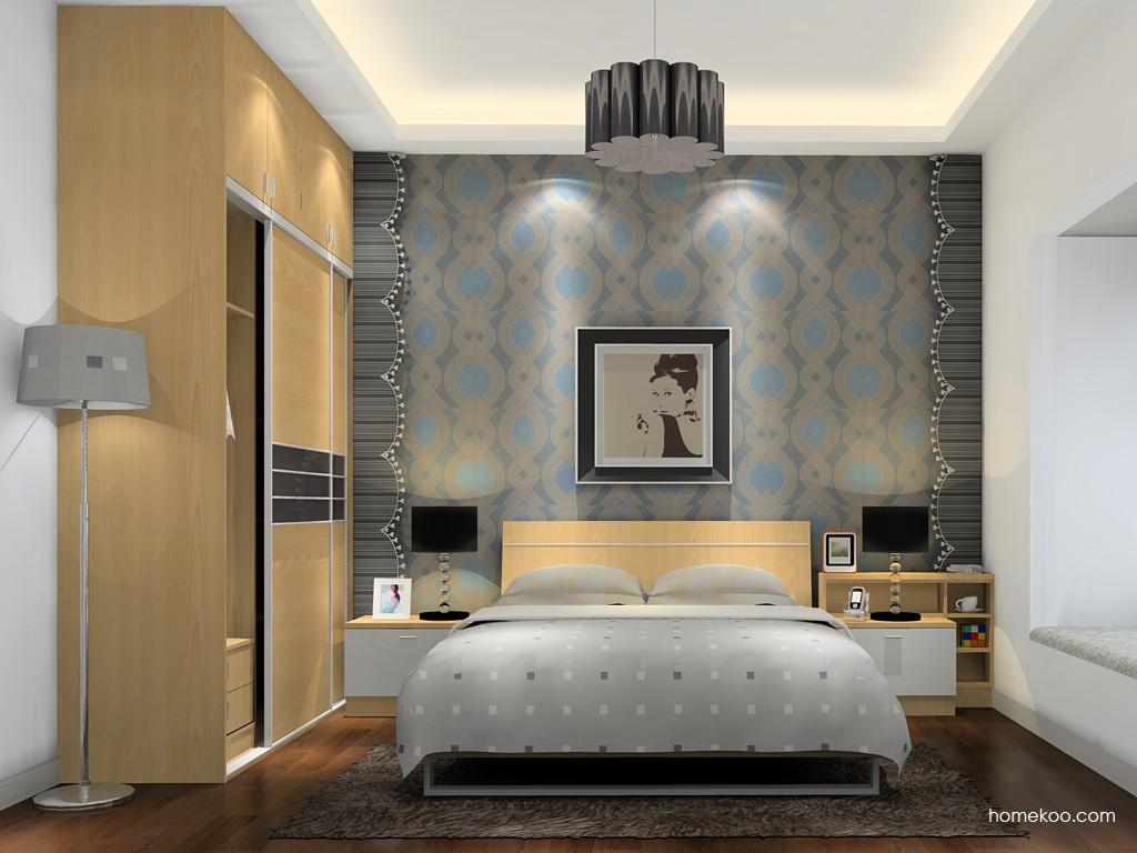 新实用主义卧房家具A15788