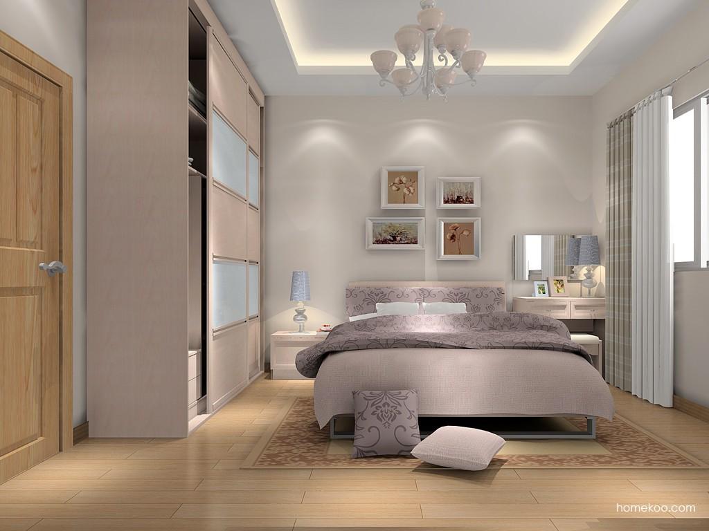 北欧阳光卧房家具A15798