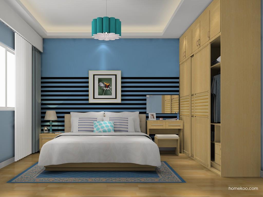 丹麦本色卧房家具A15994