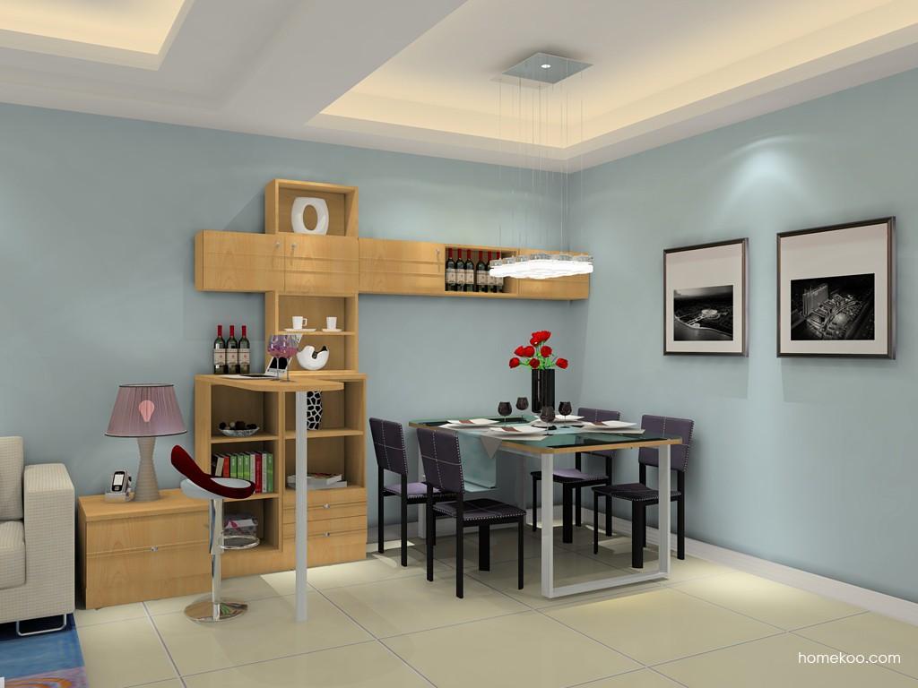 北美枫情餐厅家具E14888