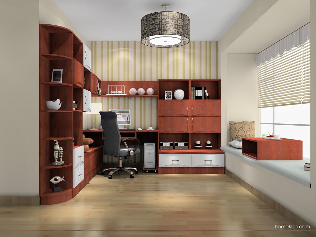 挪威月色书房家具C15456