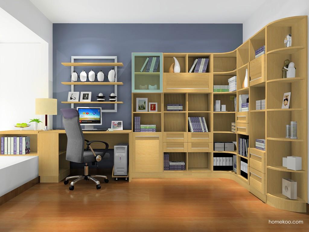 丹麦本色书房家具C15461