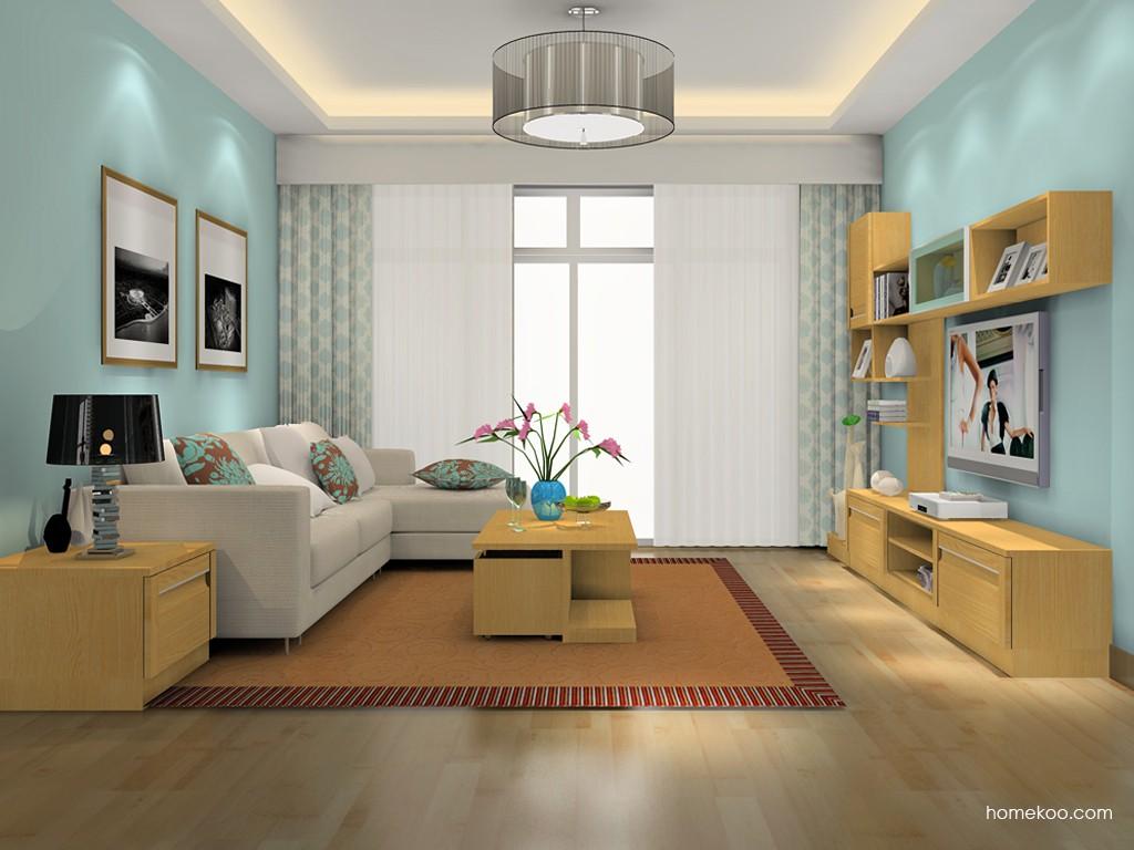 丹麦本色客厅家具D15715