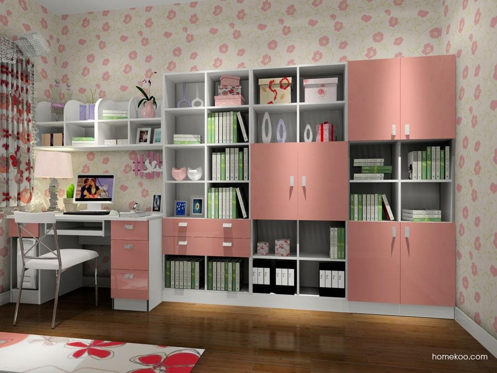 浪漫主义书房家具C4013