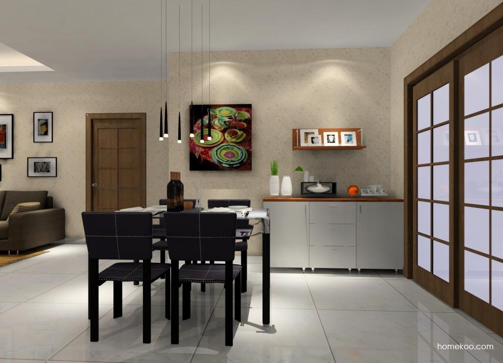 新实用主义餐厅家具E1377