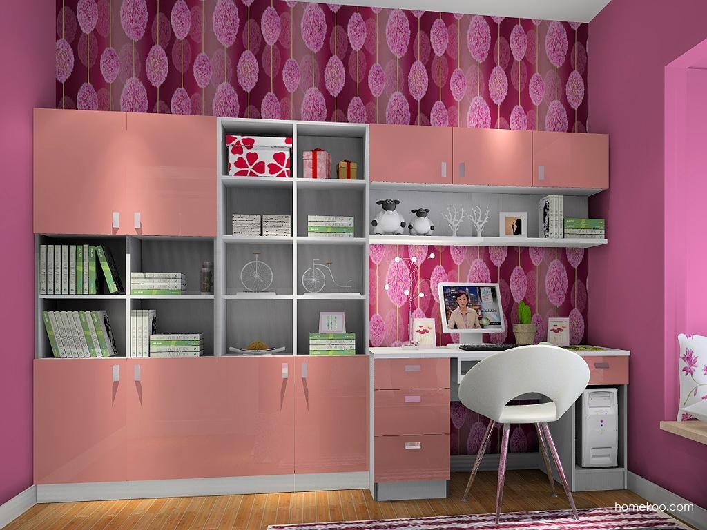 浪漫主义书房家具C4022