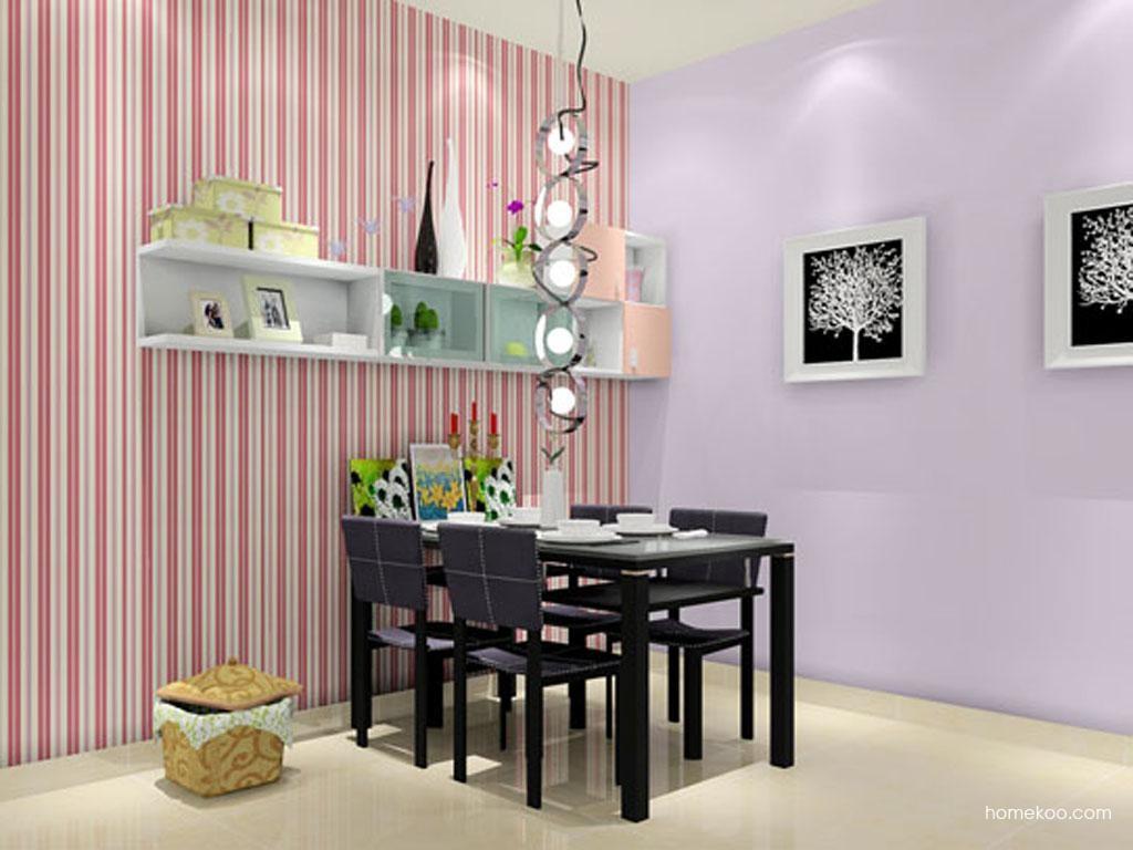 浪漫主义餐厅家具E1388