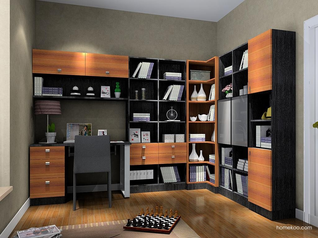 德国森林书房家具C4027