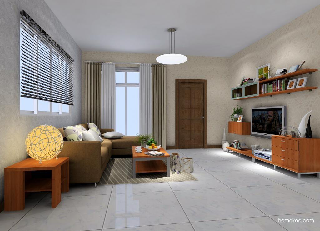 新实用主义客厅家具D1165