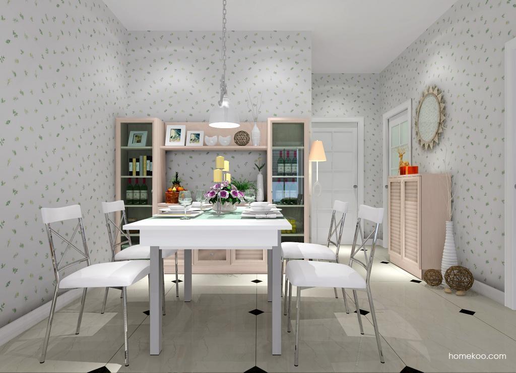 北欧阳光餐厅家具E1414