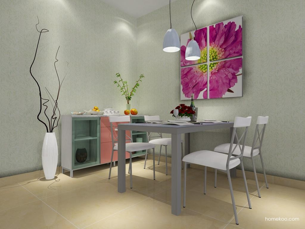 浪漫主义餐厅家具E1411