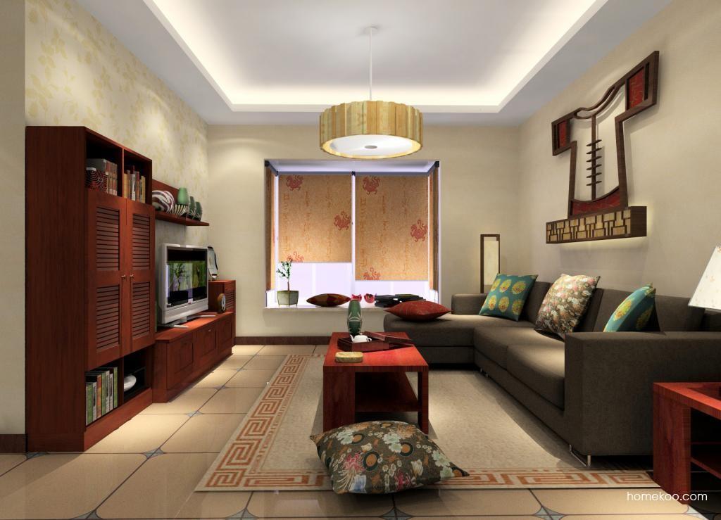 新中式主义客厅家具D1197