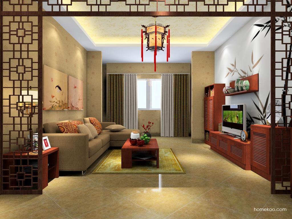 新中式主义客厅家具D1191