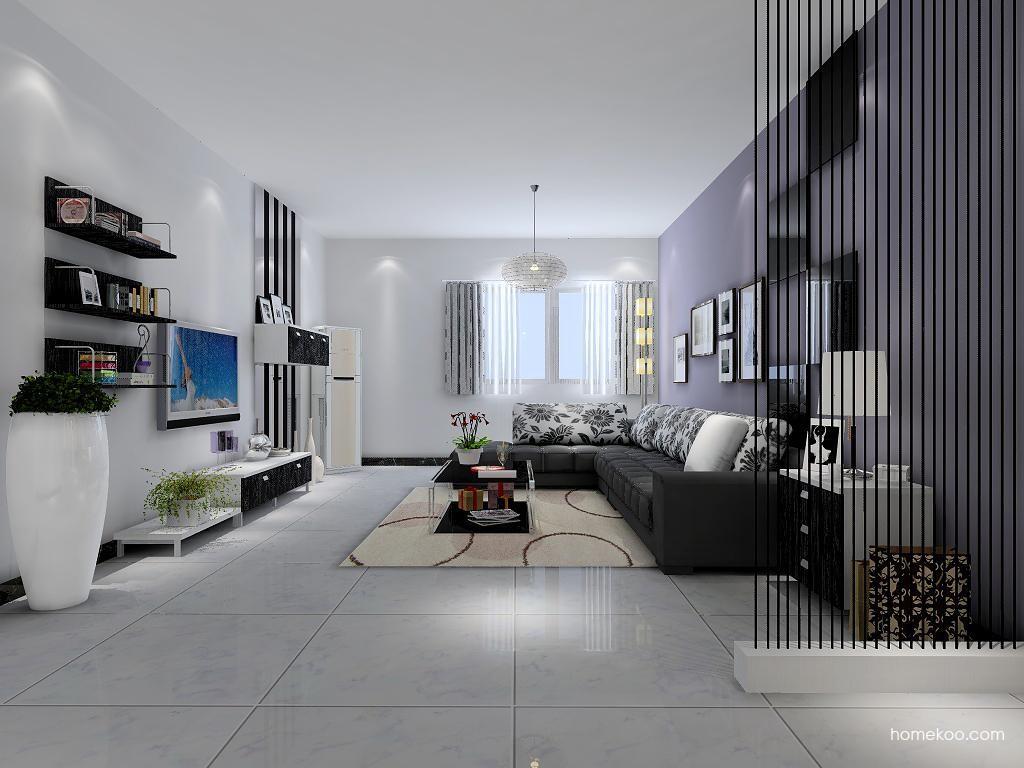 简约主义客厅家具D1213