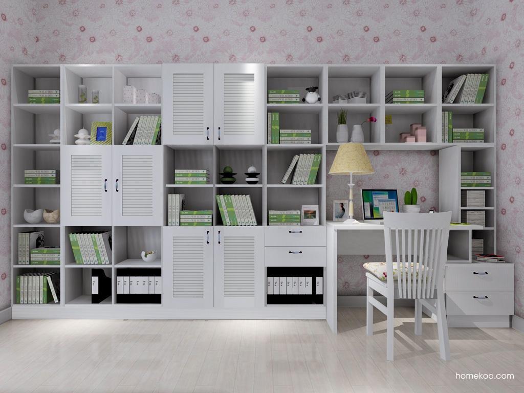 韩式田园书房家具C4082