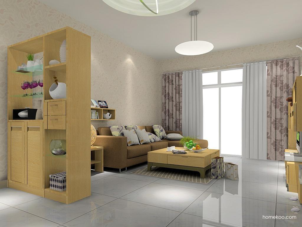 丹麦本色客厅家具D1224