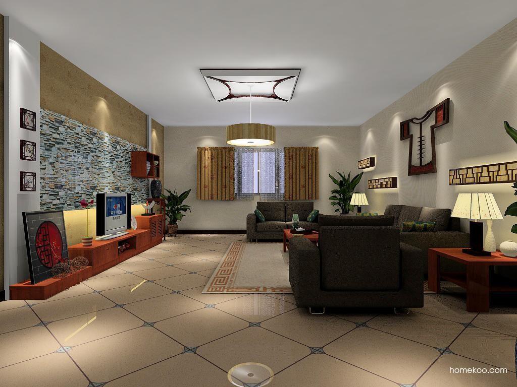新中式主义客厅家具D1239