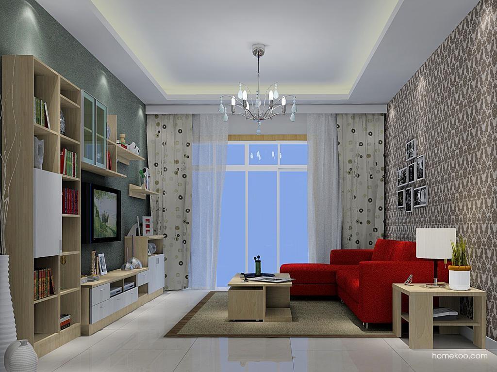 新实用主义客厅家具D1238
