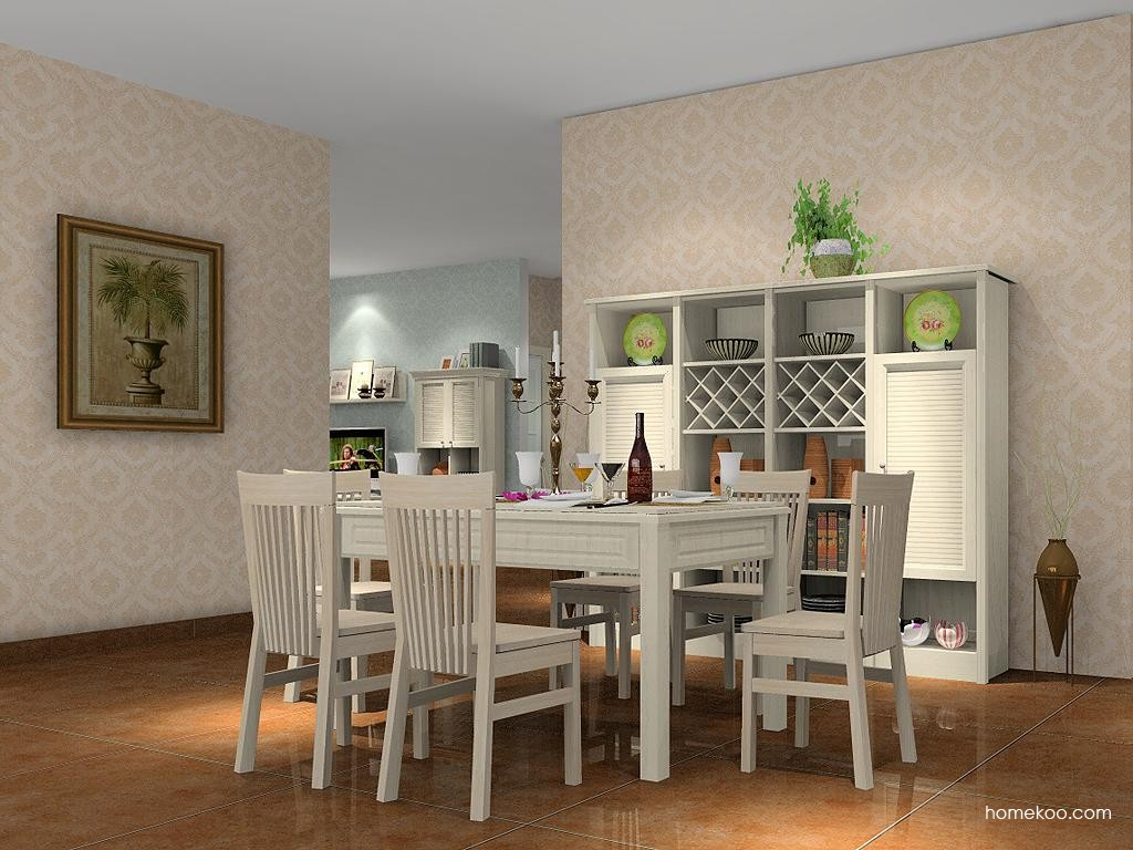 英伦印象餐厅家具E1469