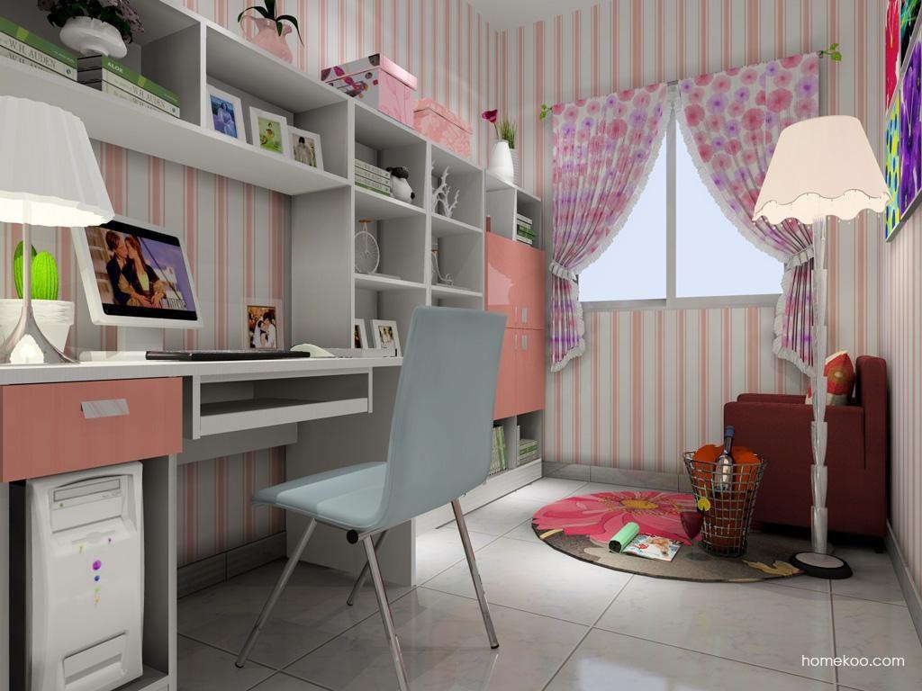 浪漫主义书房家具C4101