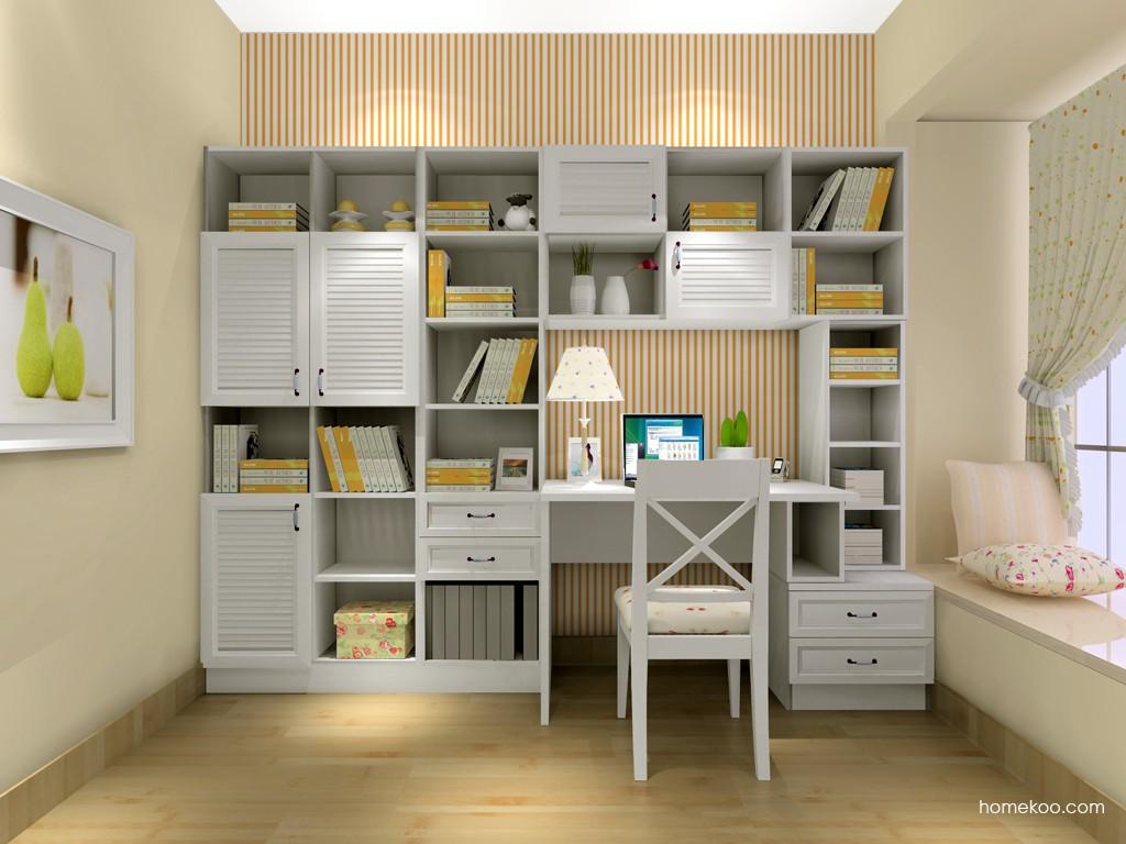 韩式田园书房家具C4108