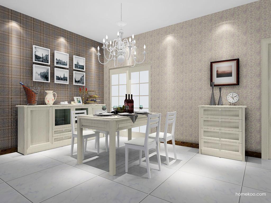英伦印象餐厅家具E1500