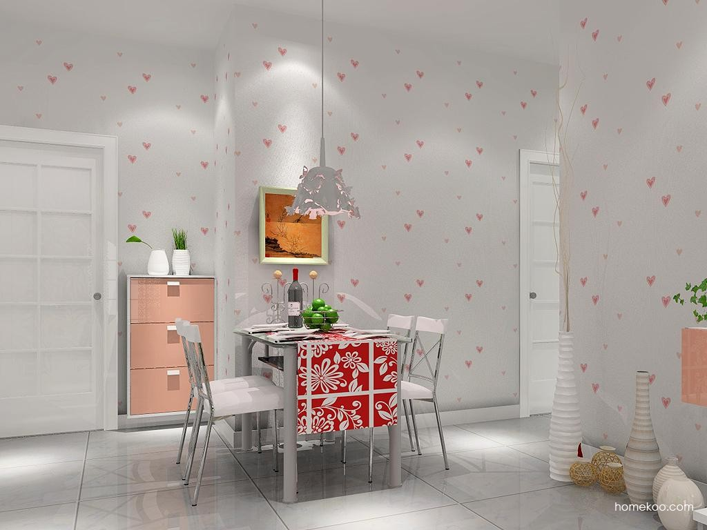 浪漫主义餐厅家具E1495