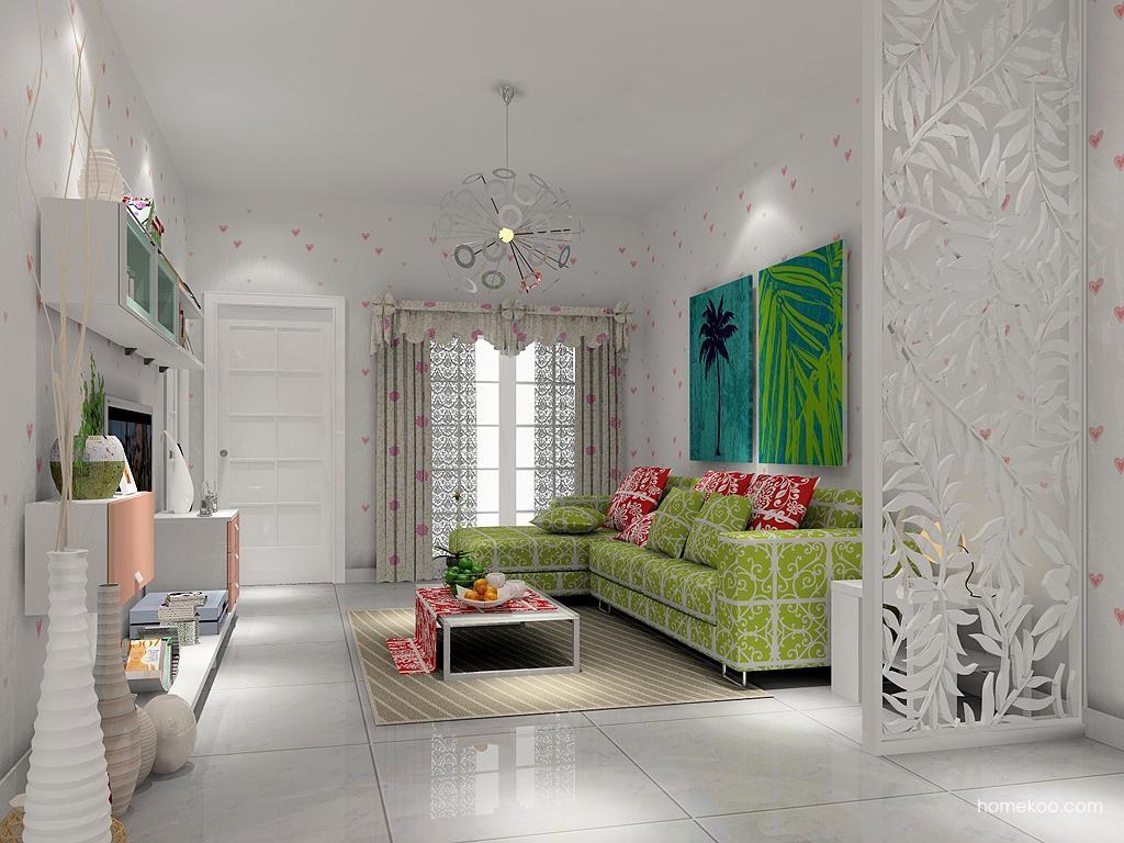 浪漫主义客厅家具D1267
