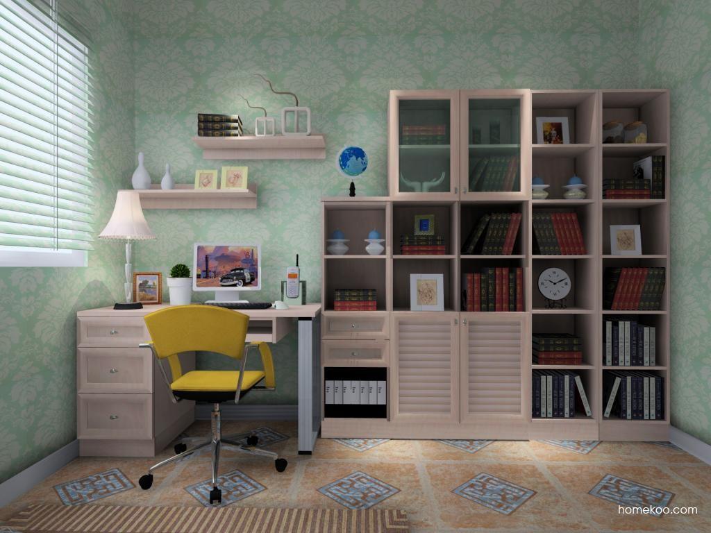 北欧阳光书房家具C4124