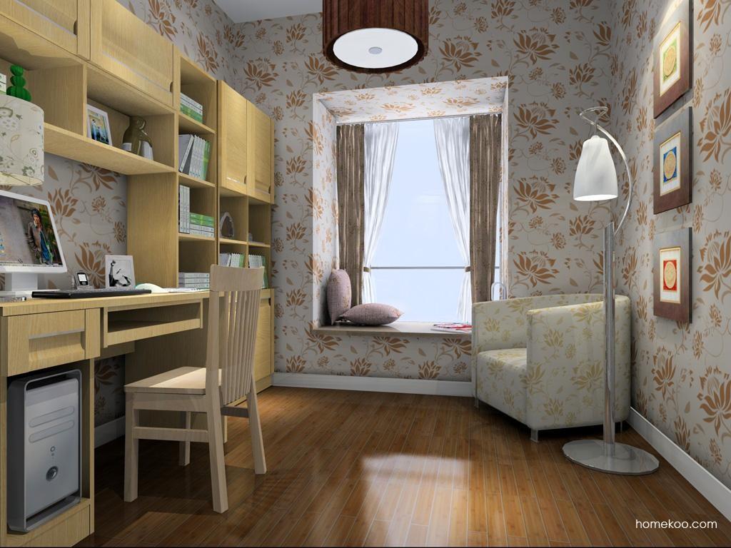 丹麦本色书房家具C4131