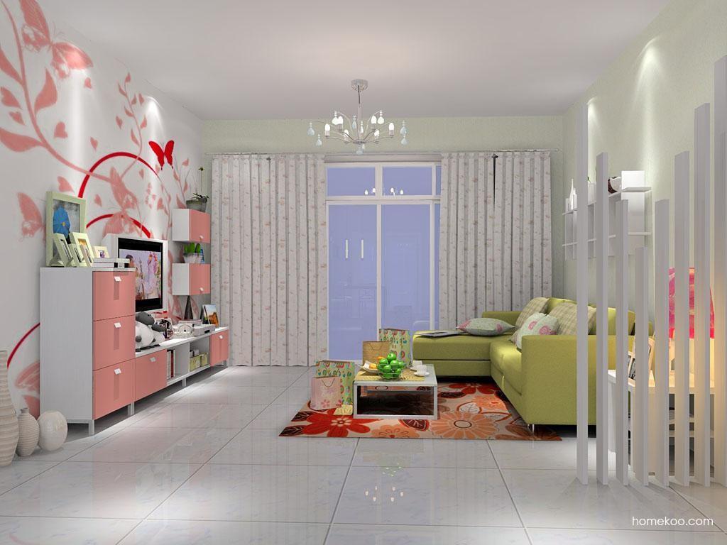 浪漫主义客厅家具D1291