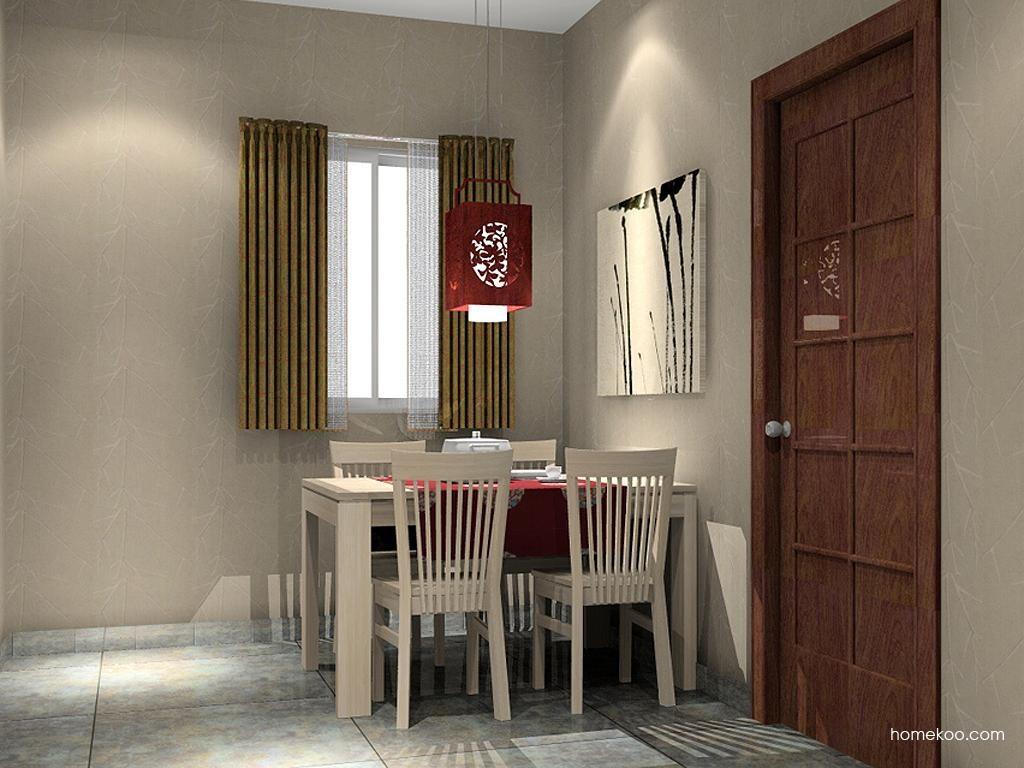 新中式主义餐厅家具E1533