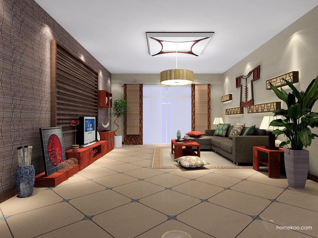 新中式主义客厅家具D1312