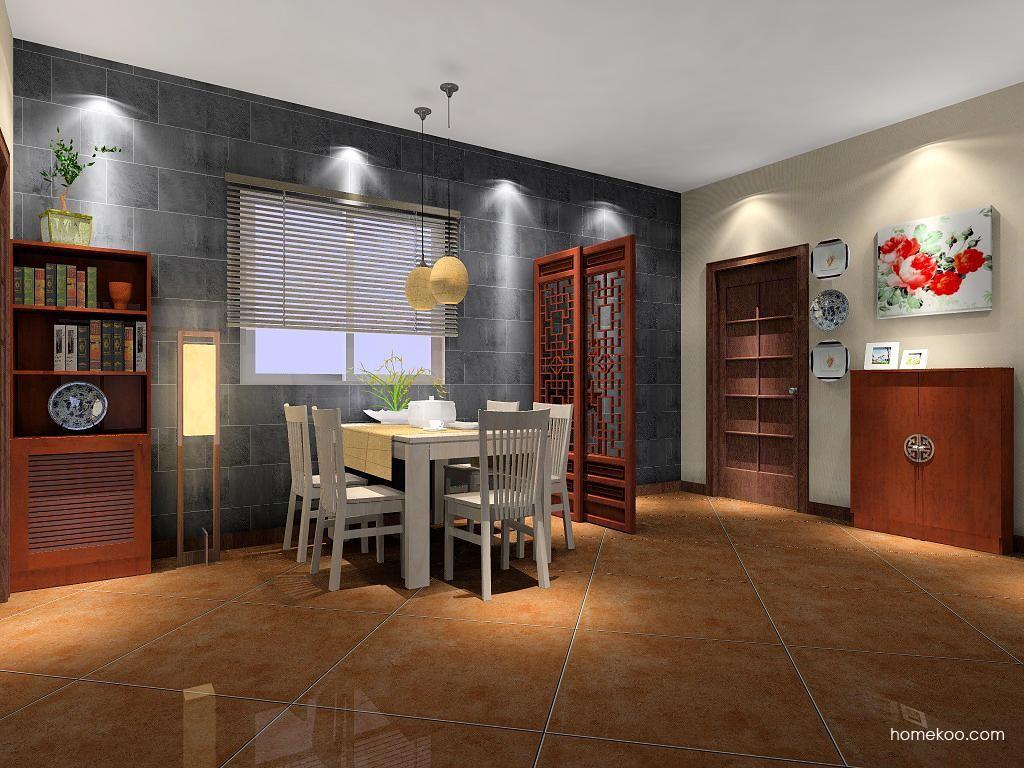 新中式主义餐厅家具E1538