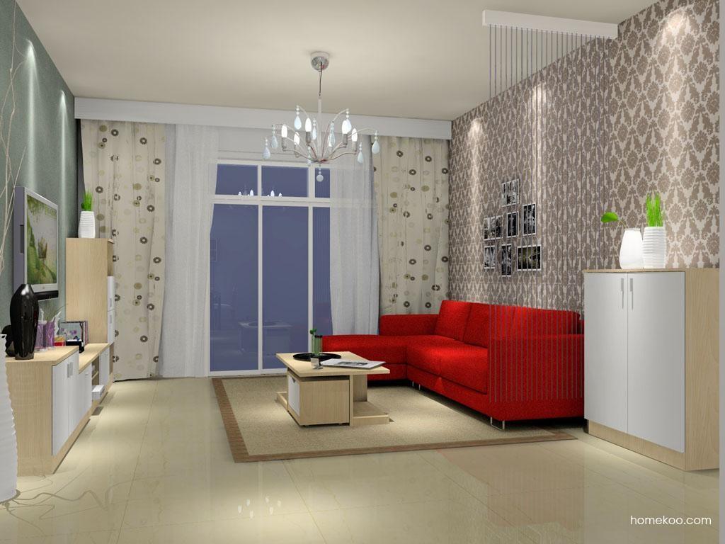 新实用主义客厅家具D1323