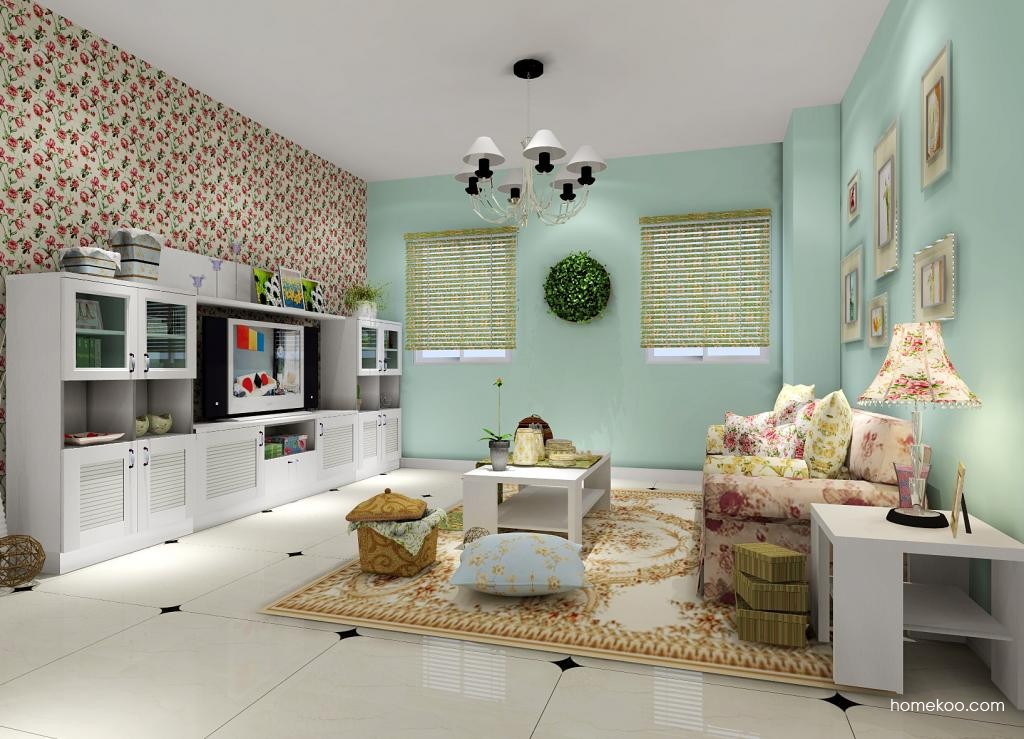 韩式田园客厅家具D1330