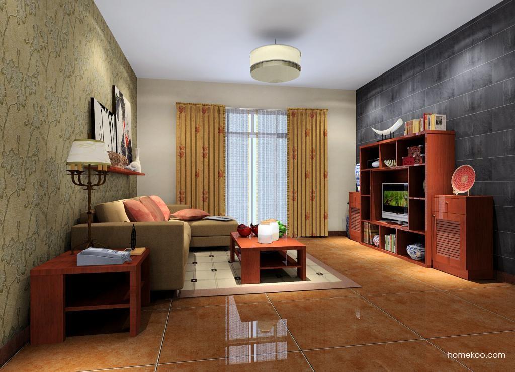 新中式主义客厅家具D1331