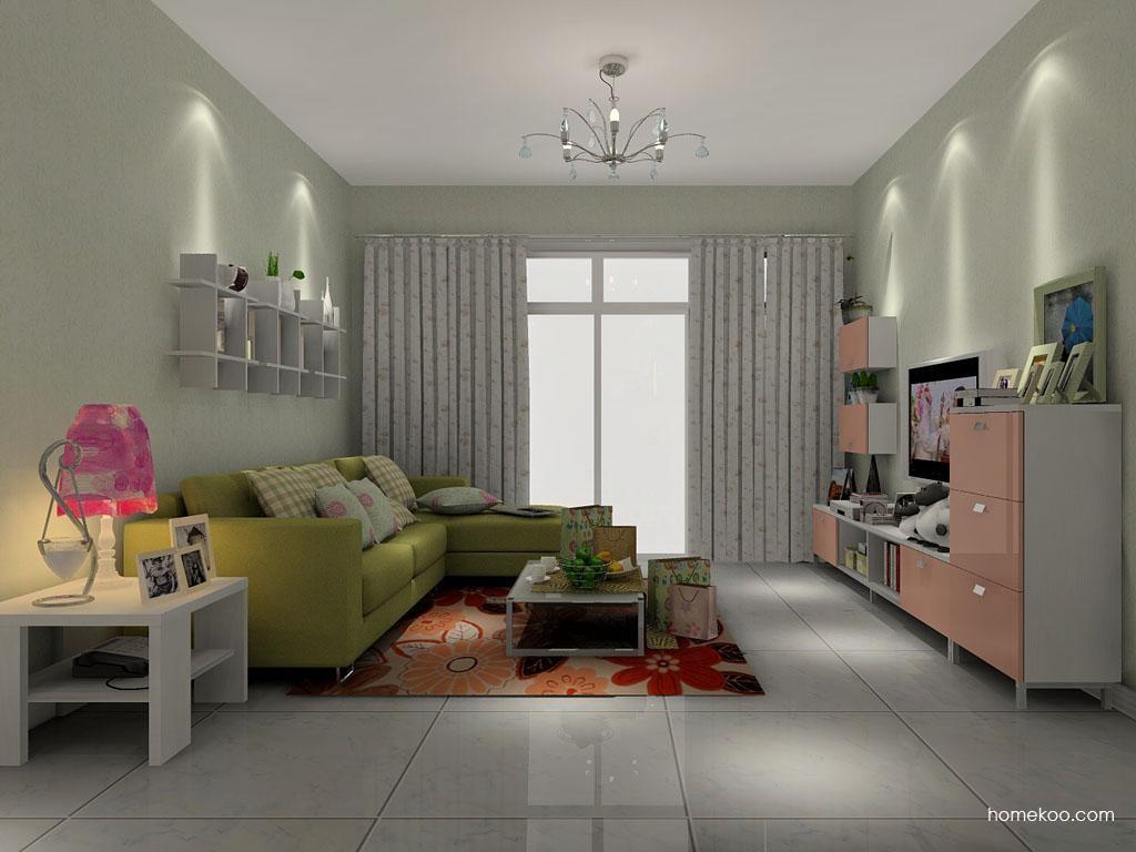 浪漫主义客厅家具D1340