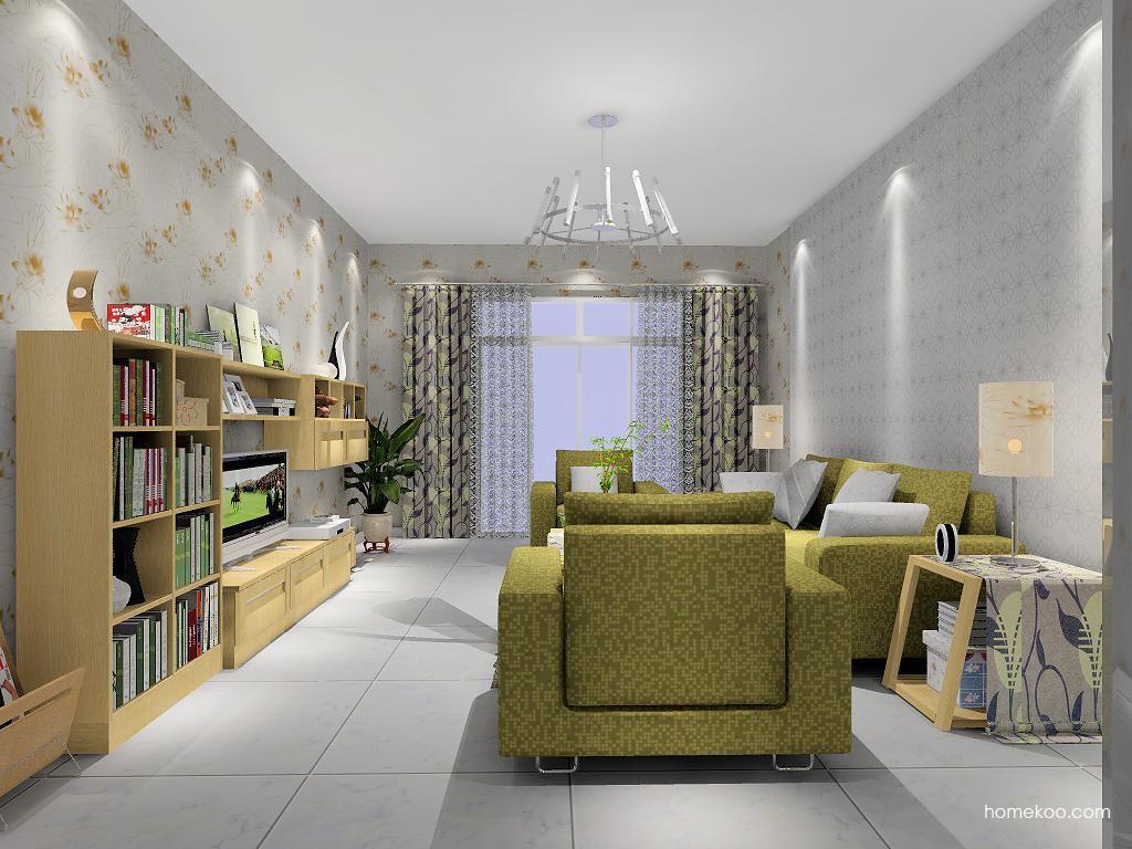 丹麦本色客厅家具D1341