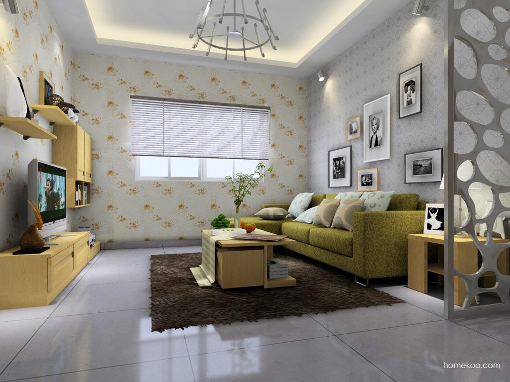丹麦本色客厅家具D1346