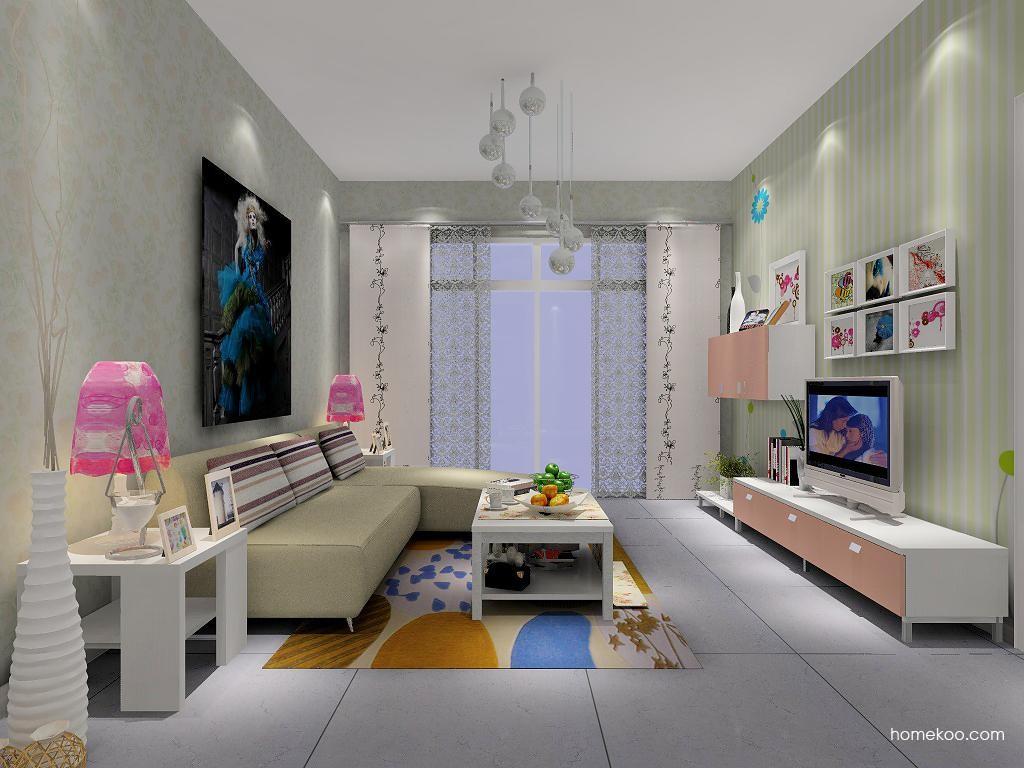 浪漫主义客厅家具D1339