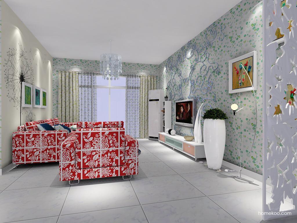 浪漫主义客厅家具D1363