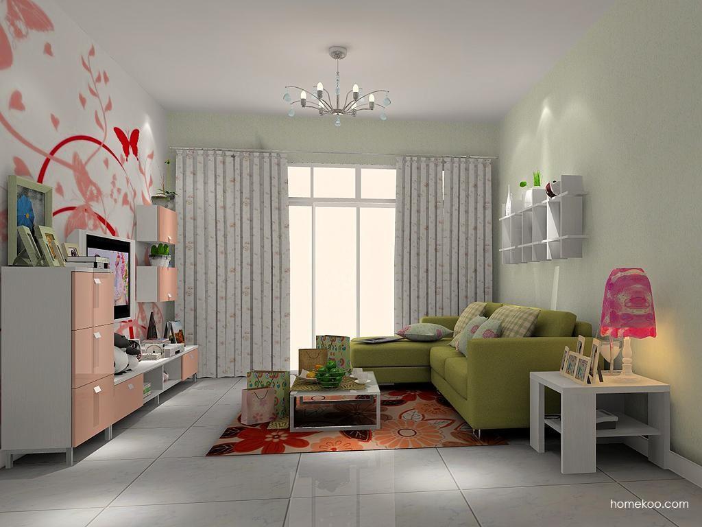 浪漫主义客厅家具D1348