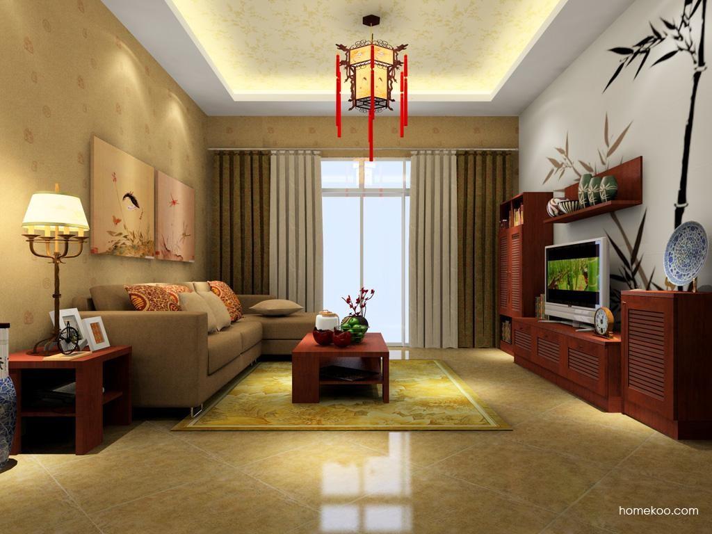 新中式主义客厅家具D1350