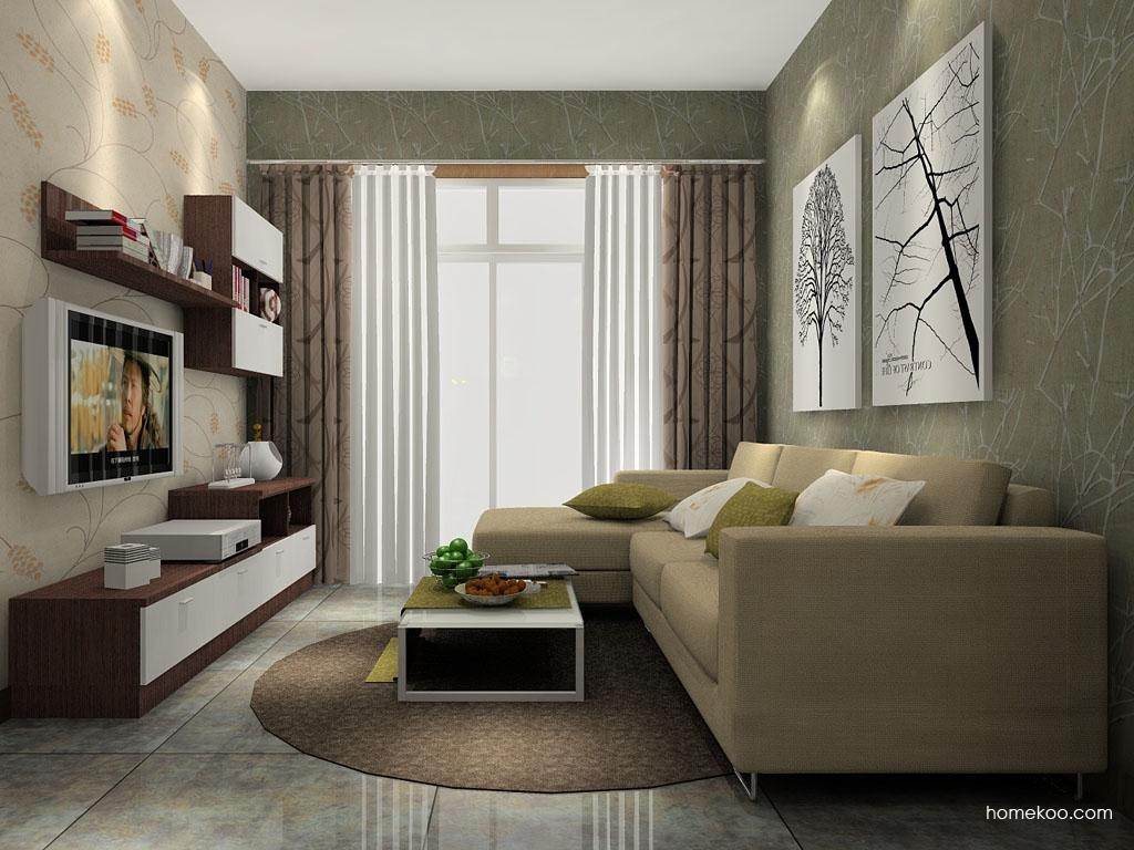 新实用主义客厅家具D1366