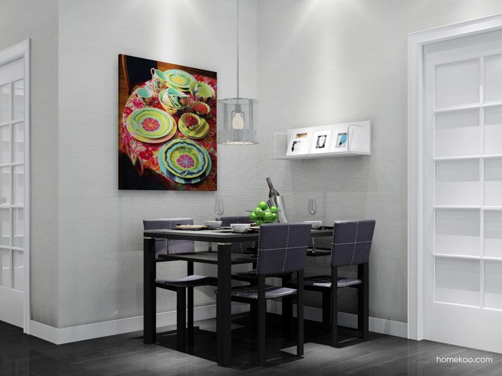 简约主义餐厅家具E1599