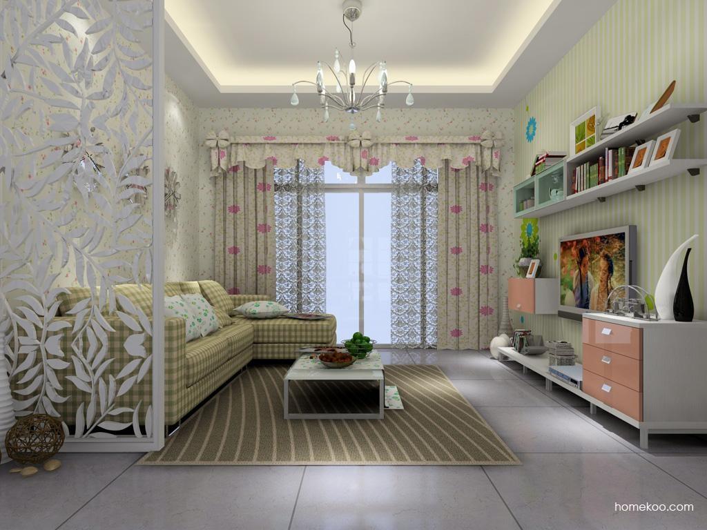 浪漫主义客厅家具D1378