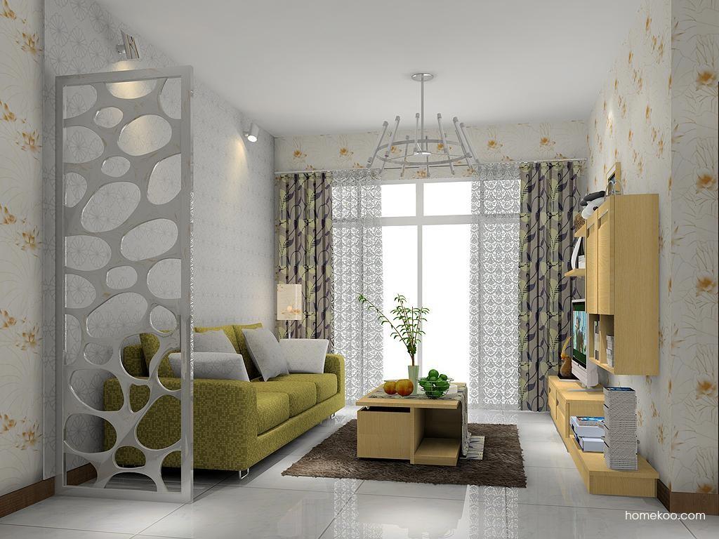 丹麦本色客厅家具D1372